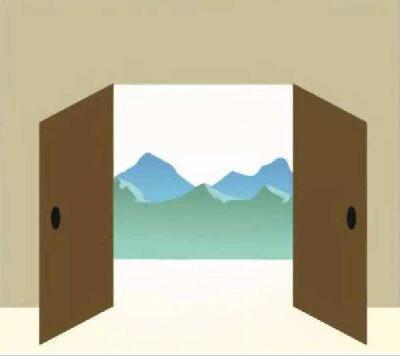 门前高楼阻挡,开门见墙,开门见山的风水化解
